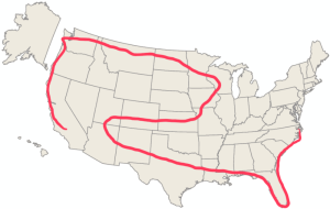 Our route!